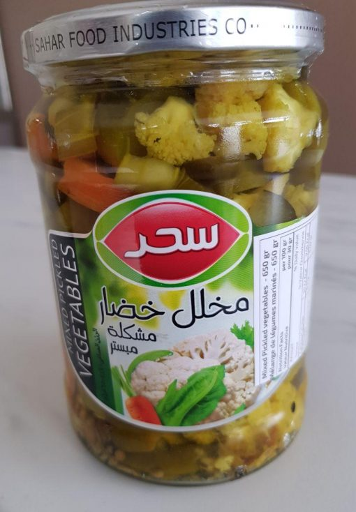 mixed vegetables pickled