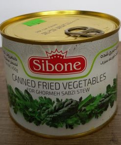 canned fried vegetables