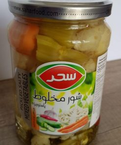 pickled salty mixed vegetables