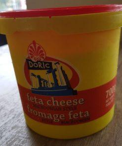 feta cheese fromage feta doric macedonian style 700g
