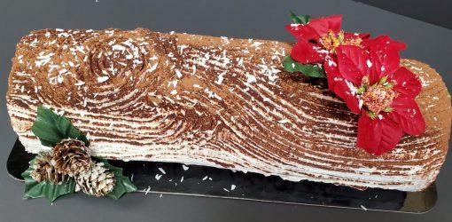yule log cake local bakery halifax